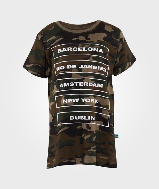 The BRAND City Tee Camo Green