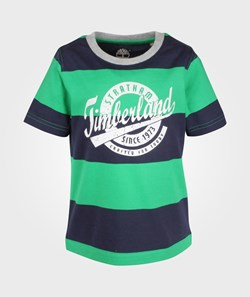 Timberland Clothing Short Sleeve T-Shirt Green