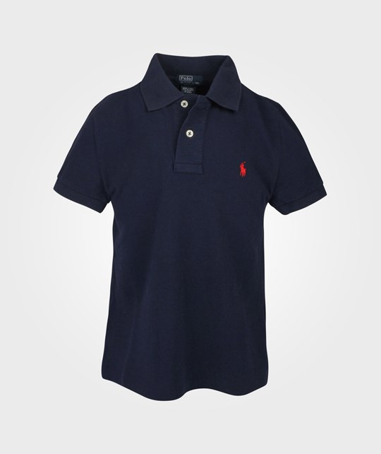 Ralph Lauren SS Custom Fit Polo French Navy Blue