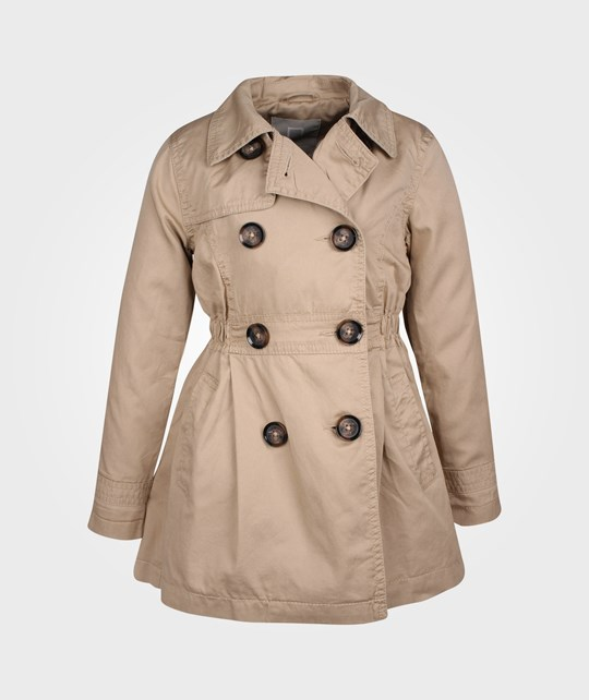 Name it Marice Kids Trench Coat Nomad бежевый