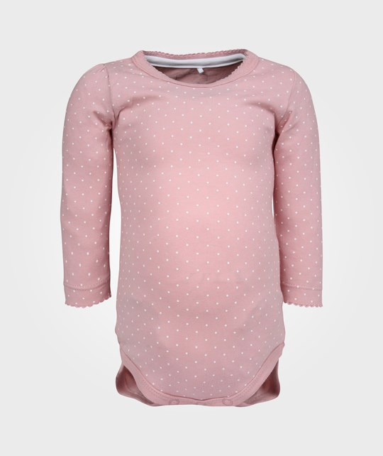 Name it Frigg SO NB LS Body Pink Nectar Pink