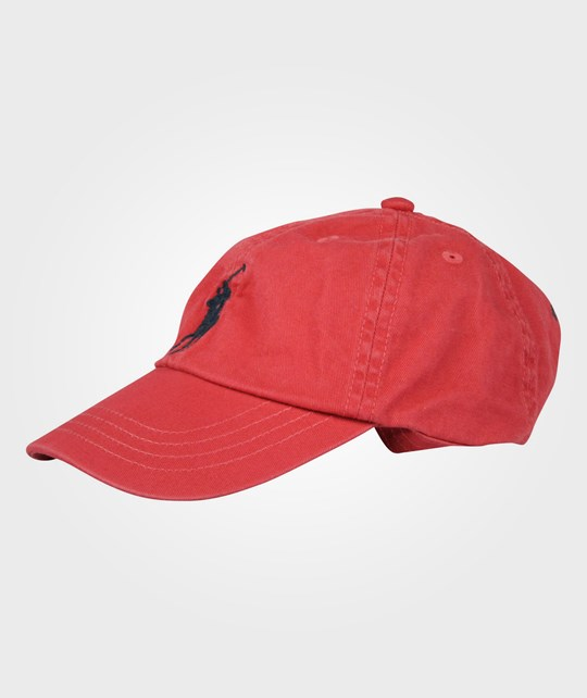 Ralph Lauren Classic Sport Cap 5-7Y Nantucket Red Multi