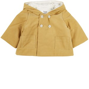 Image of Bonpoint Yellow Hooded Jacket 3 år (2028708)