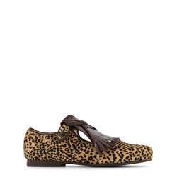 Bonpoint Derby Fauve Mary-janes Yellow