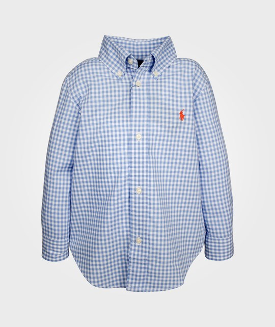 Ralph Lauren LS Blake W PP Chest Liht Blue Multi Blue
