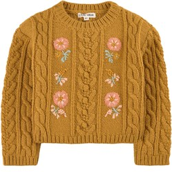 Louise Misha Georgette Sweater Camel