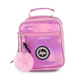 Hype Holographic Lunch Box Pink