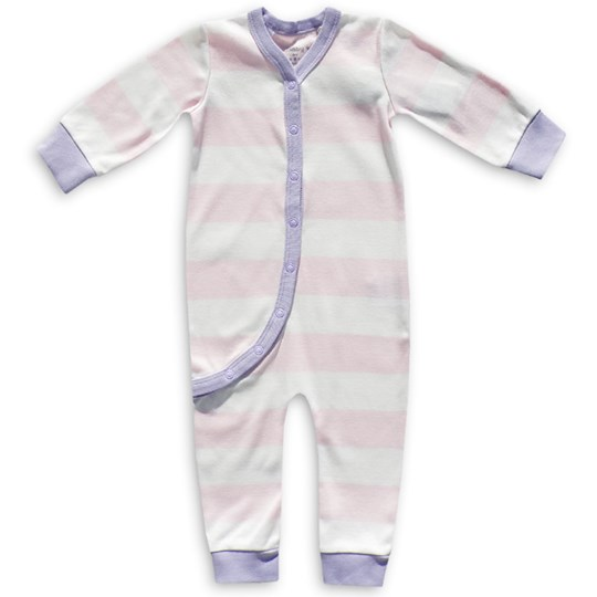 Green Cotton Yann Body Suit Candy Purple