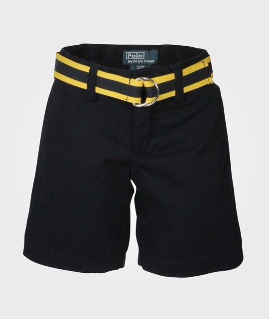 Ralph Lauren Prospect Short W Belt Aviator Navy Blue