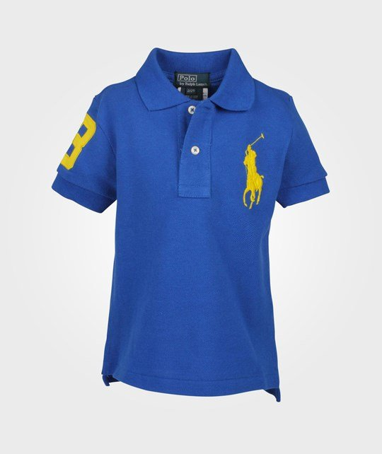 Ralph Lauren SS Polo W/Big PP Pacific Royal Blue