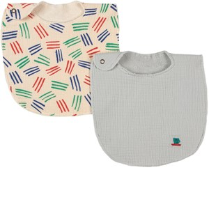 Image of Bobo Choses 2-pak Cup Of Tea And Scratch Colors Hagesmække Ballad Blue one size (1948021)