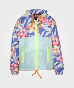 KILT  Windbreaker Flower/Dusty Blue