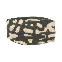 Bobo Choses Painting Knitted Neck Warmer Dried Herb