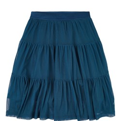 The Campamento Tulle Skirt Green