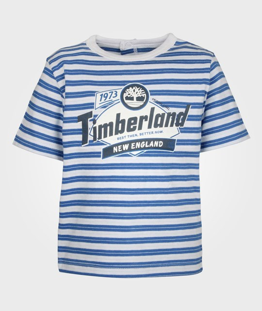 Timberland Clothing Short Sleeve T-shirt Electric Blue Blue