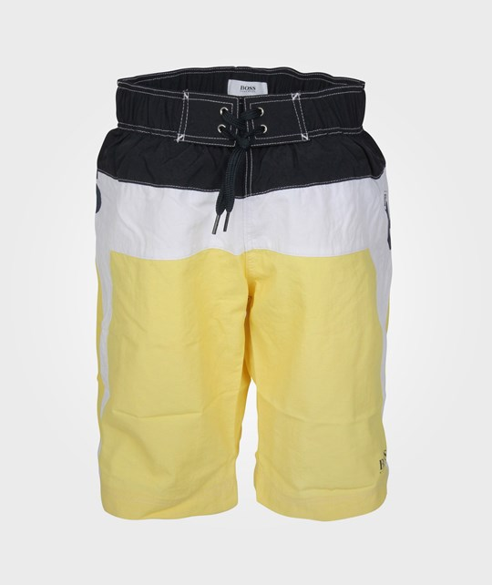 BOSS Swim Shorts Lemon Yellow