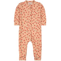 Bobo Choses All Over Flowers One-piece Rose Cloud