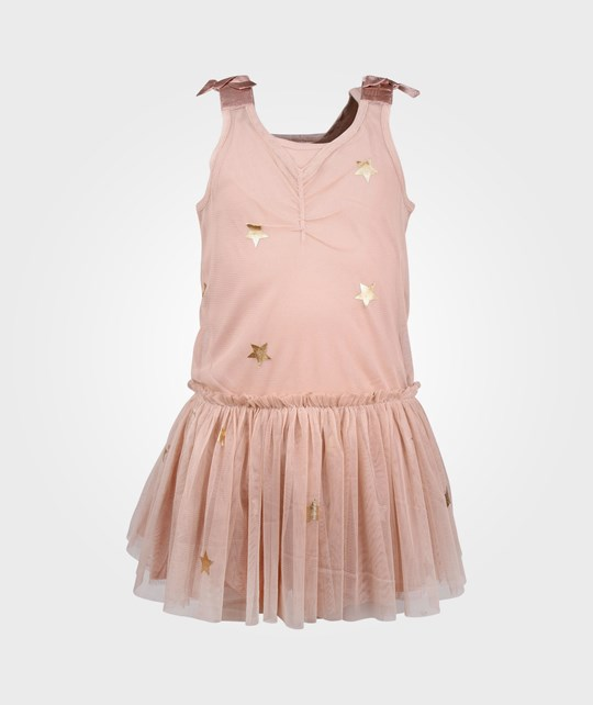 Stella McCartney Kids Bell Dress Almond бежевый