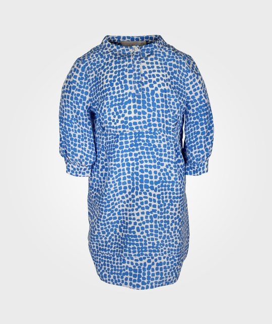 Stella McCartney Kids Cara Dress Blue Animal Blue