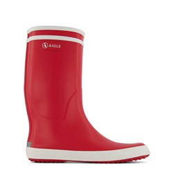 Aigle Lolly Pop Rain Boots Red
