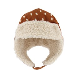 Kuling Levi Dotted Trapper Hat Brown