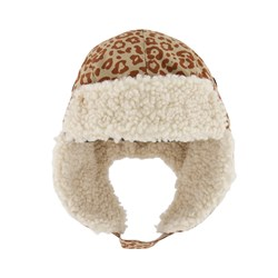 Kuling Шапка-ушанка Levi Trapper Hat Leopard Brown