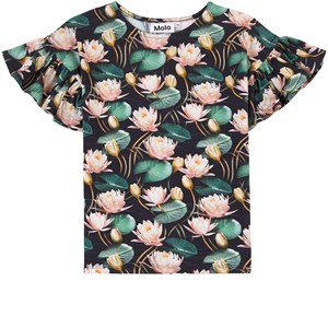 Image of Molo Rayah T-shirt Water Lilies 104 cm (3-4 år) (1926333)