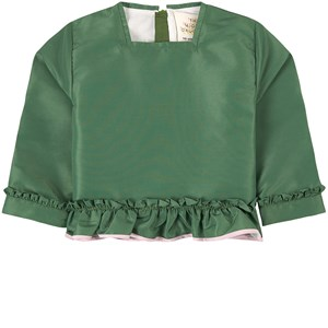 Image of The Middle Daughter Class Act Taffteta Frill Top Perrier Green 11-12 år (1973808)
