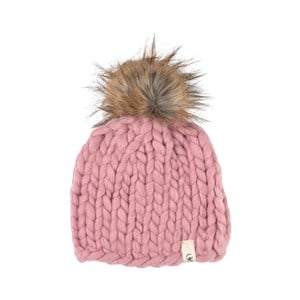 Image of Isbjörn Of Sweden Fox Cap Hue Dusty Pink one size (1877810)