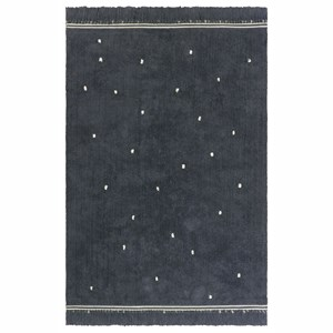 Image of Tapis Petit Emily Tæppe Anthracite one size (2011772)