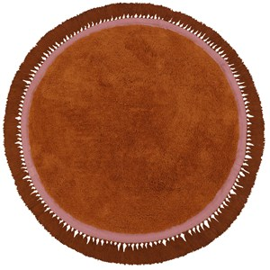 Image of Tapis Petit Lily Tæppe Rust one size (2011775)