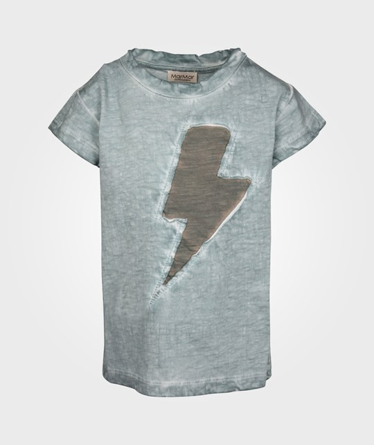 MarMar Copenhagen Lightning Tee Puritan Grey  Black