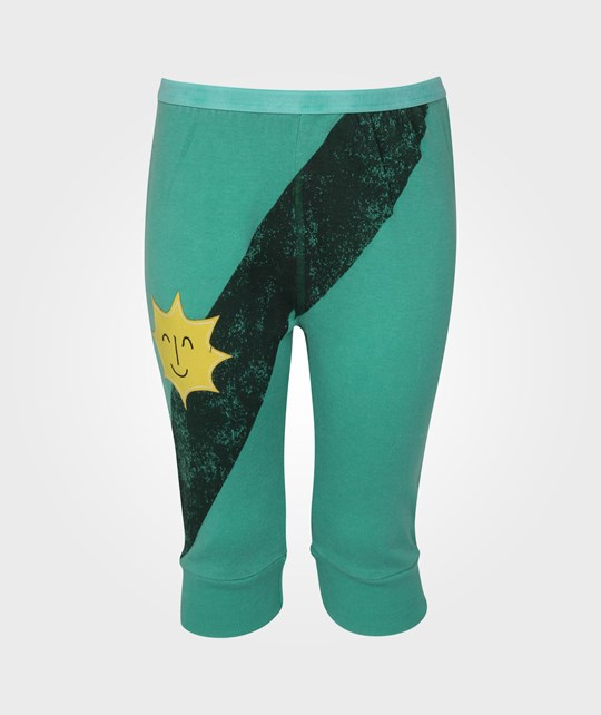 Bobo Choses Medium Length Pants Sash Green