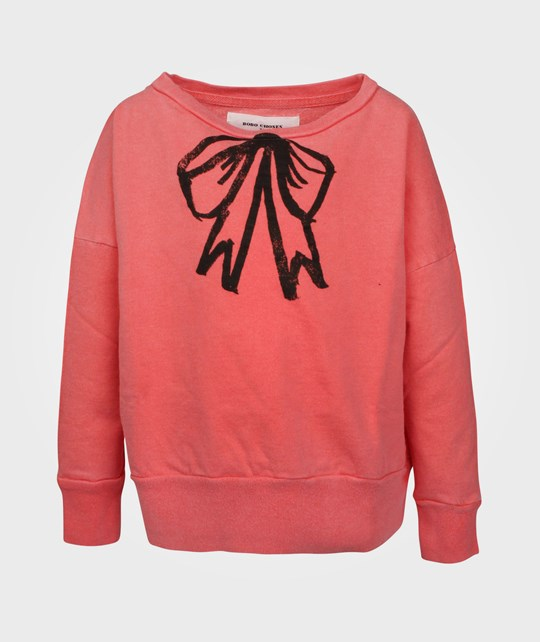 Bobo Choses Sweatshirt Bow Pink