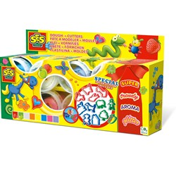 SES Creative Clay 8 cupsx90gr+ 12 cutters