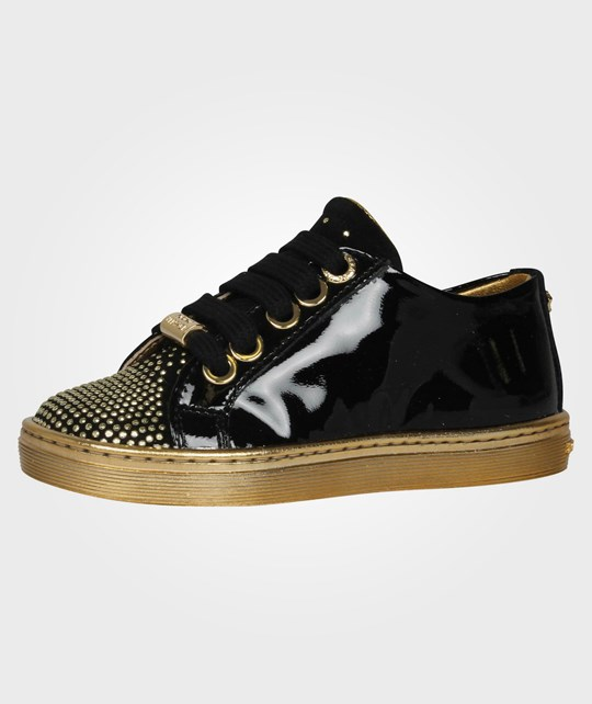 Young Versace Shoes Black Black