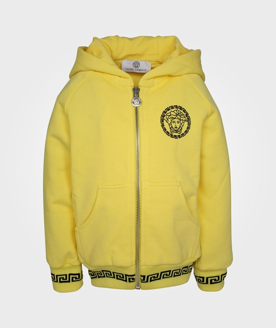 Young Versace Sweatshirt Yellow Yellow