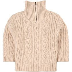 Louise Misha Kalie Cable Knit Sweater Cream