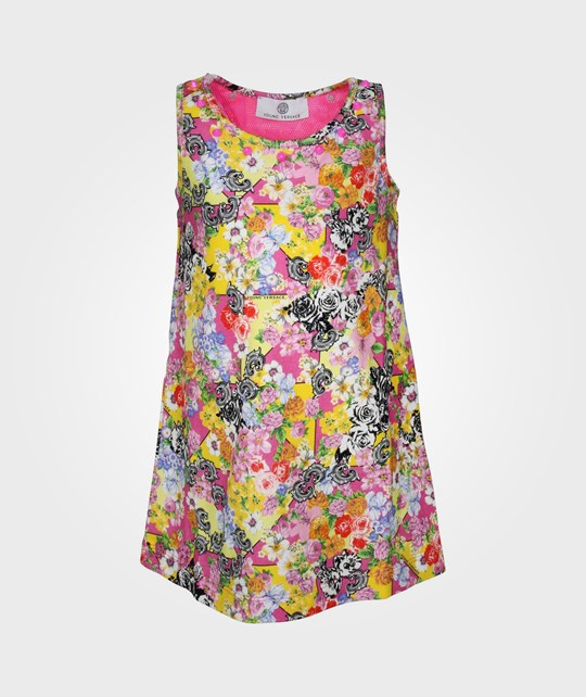 Young Versace Dress Multicolor Multi