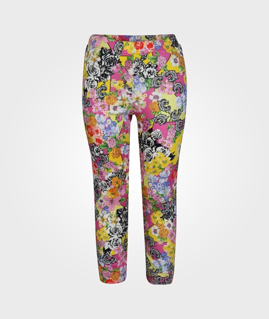 Young Versace Trousers Multicolor Multi