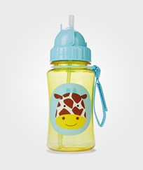 Skip Hop Zoo Straw Bottle - Giraffe Multi