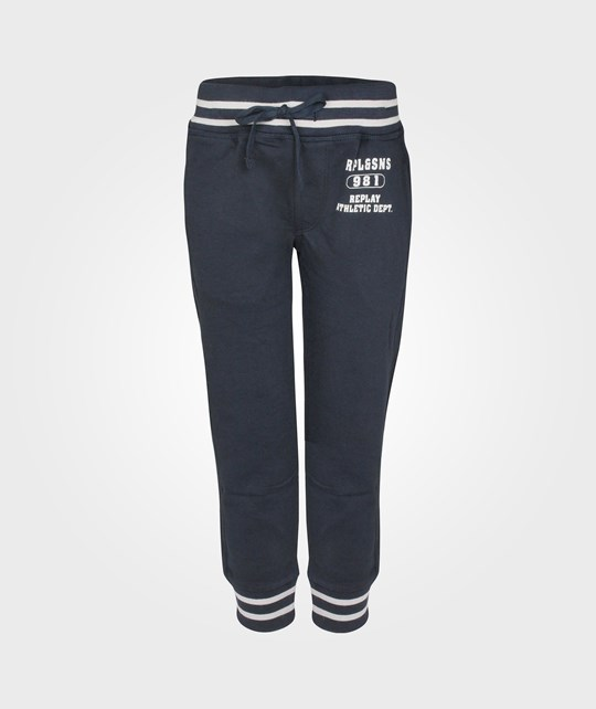 Replay Pants Blue Blue