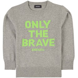 Diesel Only The Brave Knitted Sweater Gray