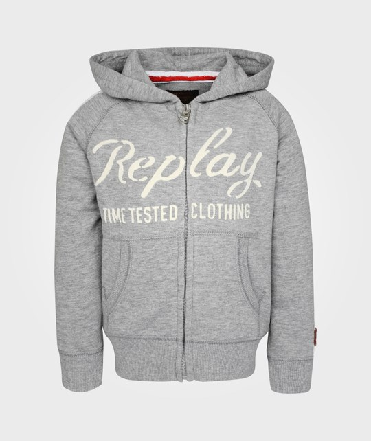 Replay Sweatshirt Grey Black