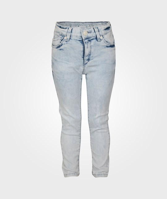 Replay Baby Girls Pants Denim Blue