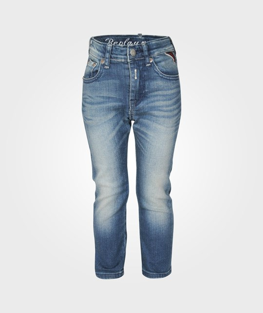 Replay Baby Boys Pants Denim Blue
