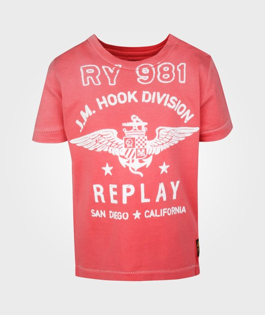 Replay Baby Boys T-shirt Rød
