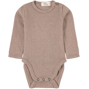 Image of My Little Cozmo Basic Baby Bodysuit Recycled Taupe 12 mdr (1951001)