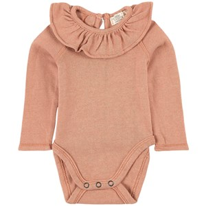 Image of My Little Cozmo Baby Girl Bodysuit Recycled Brown 12 mdr (1951019)