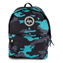 Hype Wave Camo Backpack Black